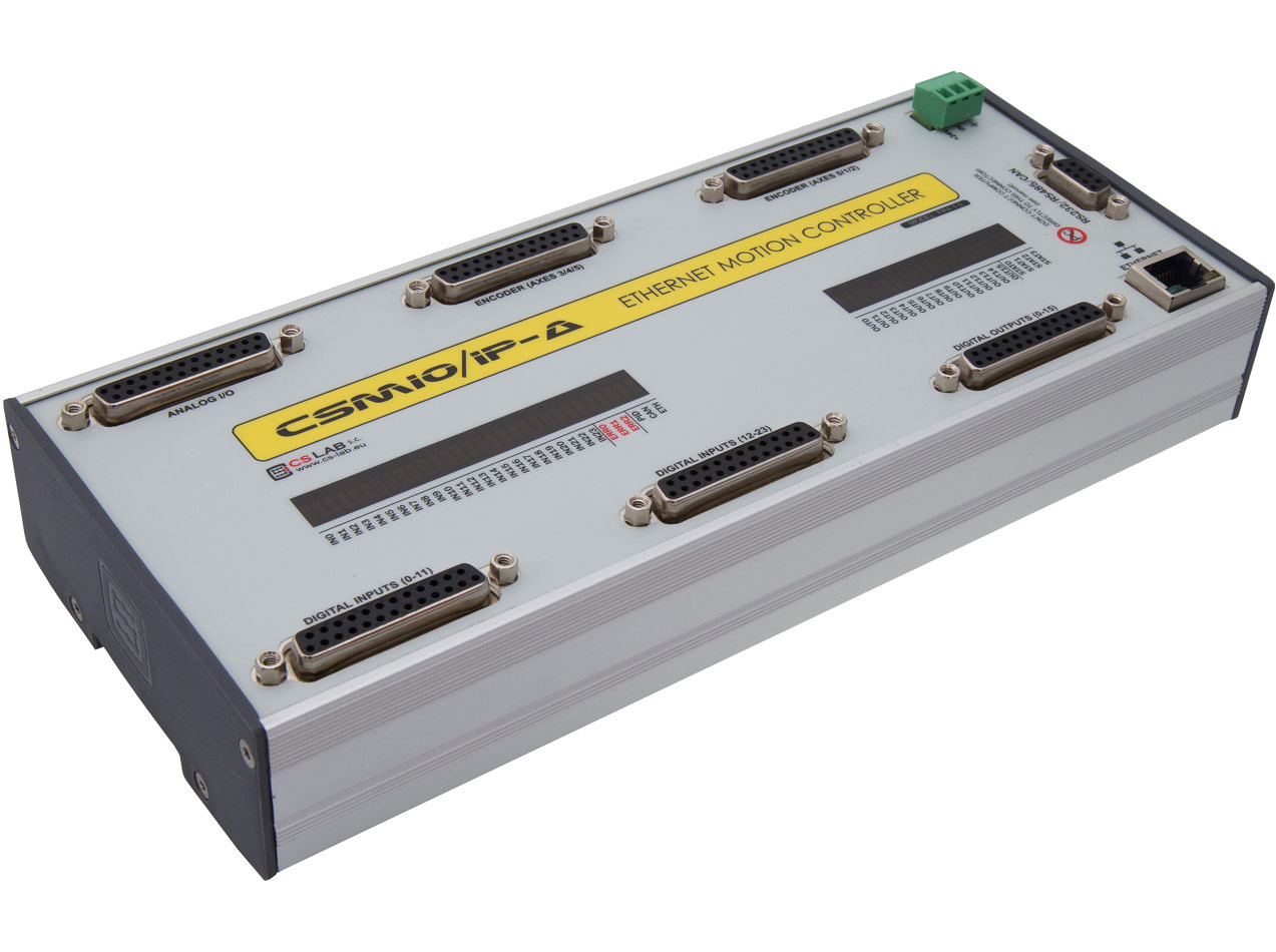 CSMIO/IP-A | 6-axis Motion Controller (+/- 10V), Ethernet