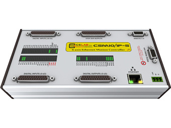 CSMIO/IP-S | 6-axis Motion Controller   (STEP/DIR), Ethernet
