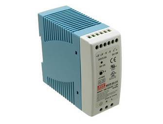 DIN rail Power Supply 24V/2,5A by MeanWell