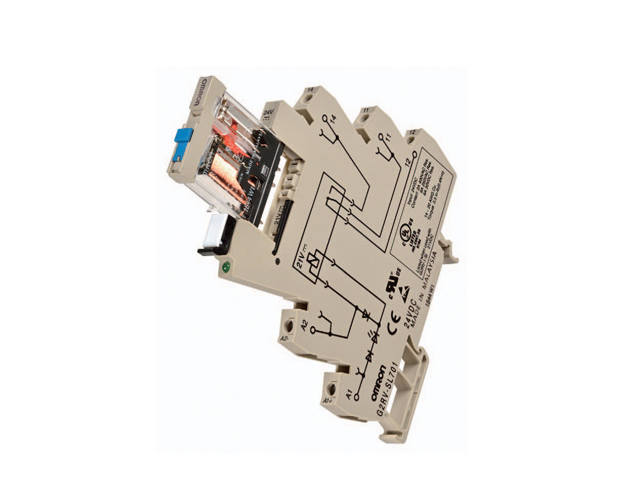 Slim Relay Test Switch Type by Omron