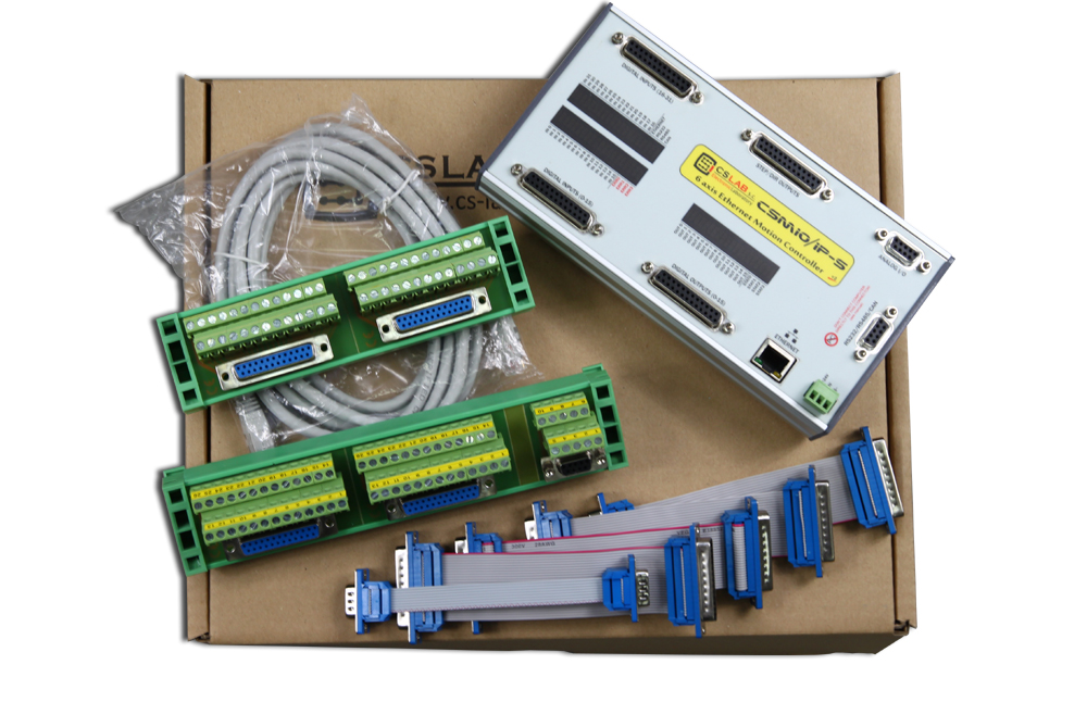 CSMIO/IP-S | 6-axis Motion Controller (STEP/DIR), Ethernet