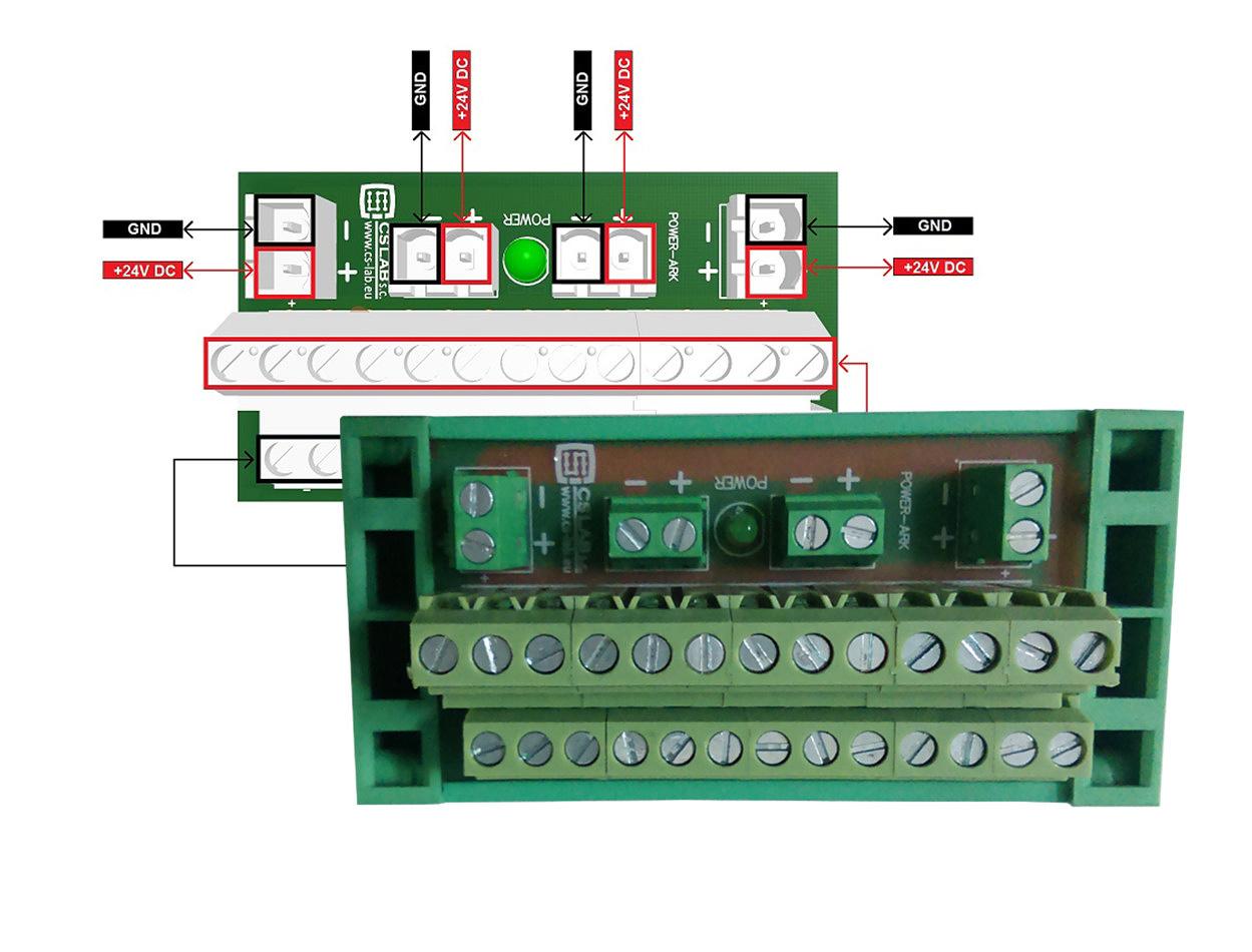 Power Divider 24 VDC