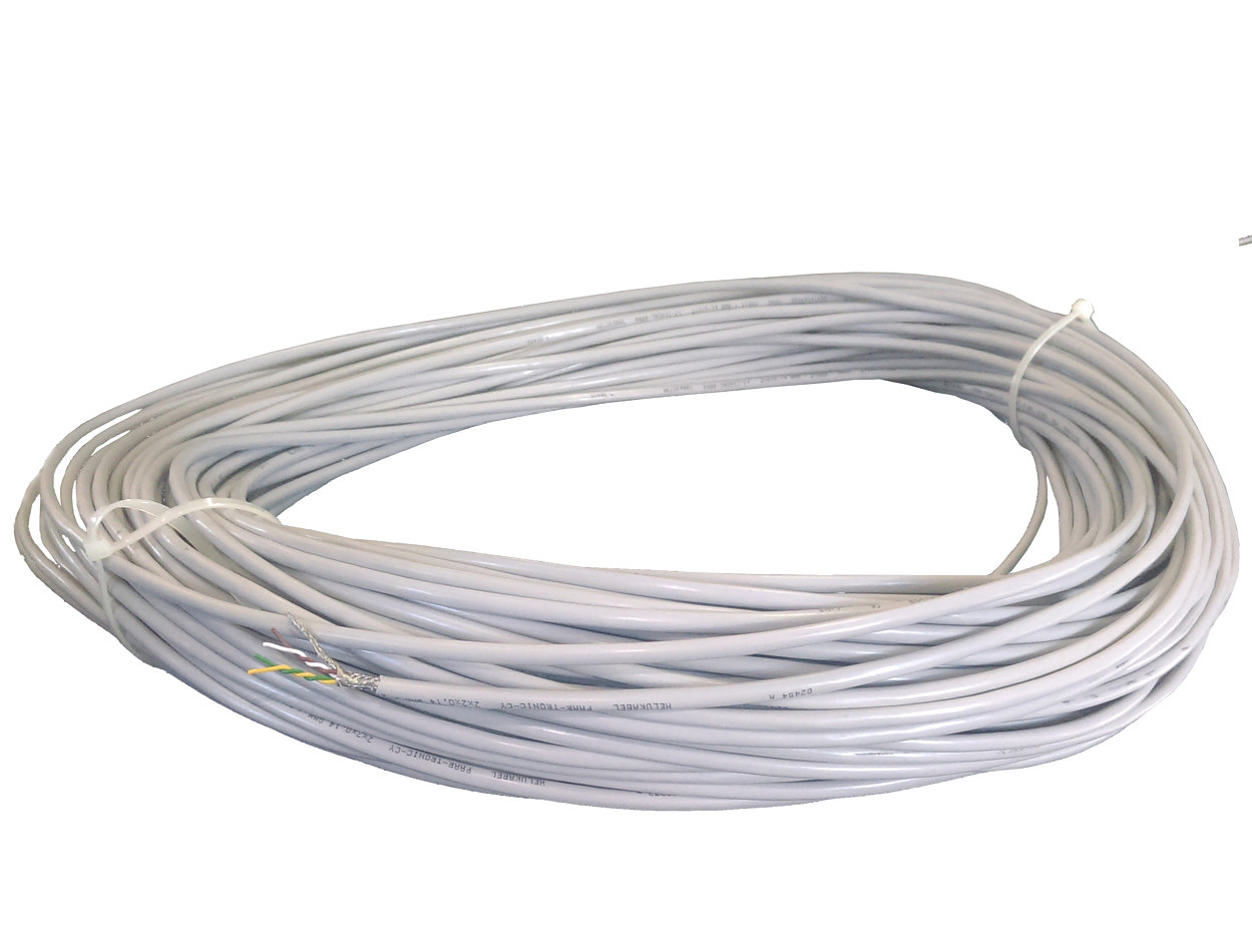 STEP/DIR or CAN bus wire 2x2x0.14mm (price per 1 meter)