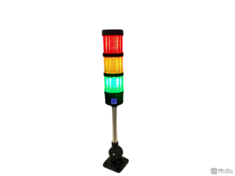 Stack lights Signal Tower 24V. Folded with Sound