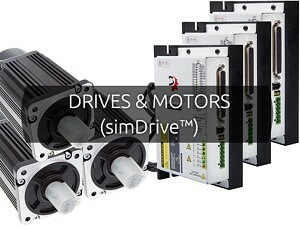DRIVES & MOTORS (simDrive™)